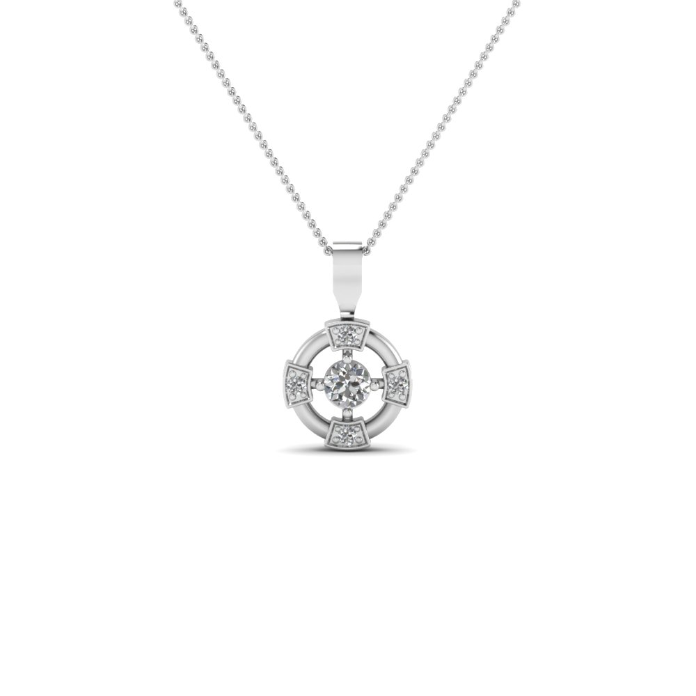 Wheel design diamond pendant necklace in sterling silver wheel design diamond pendant necklace in sterling silver fdpd2729 nl wg aloadofball Gallery