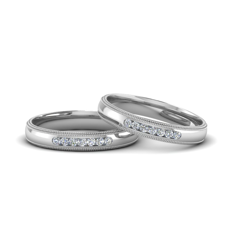 Gay Mens Diamond Engagement Rings In 14k White Gold Fascinating
