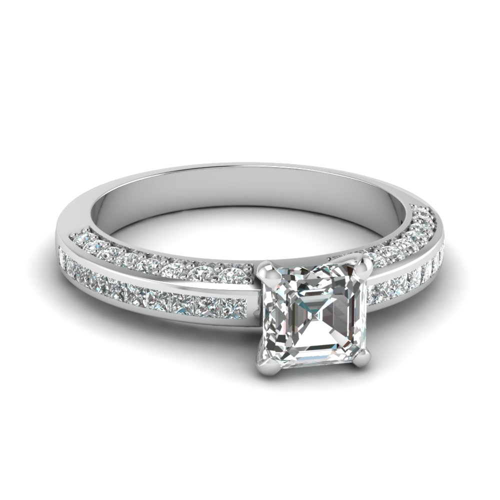 asscher cut diamond accent engagement ring in FDENS3020ASR NL WG.jpg