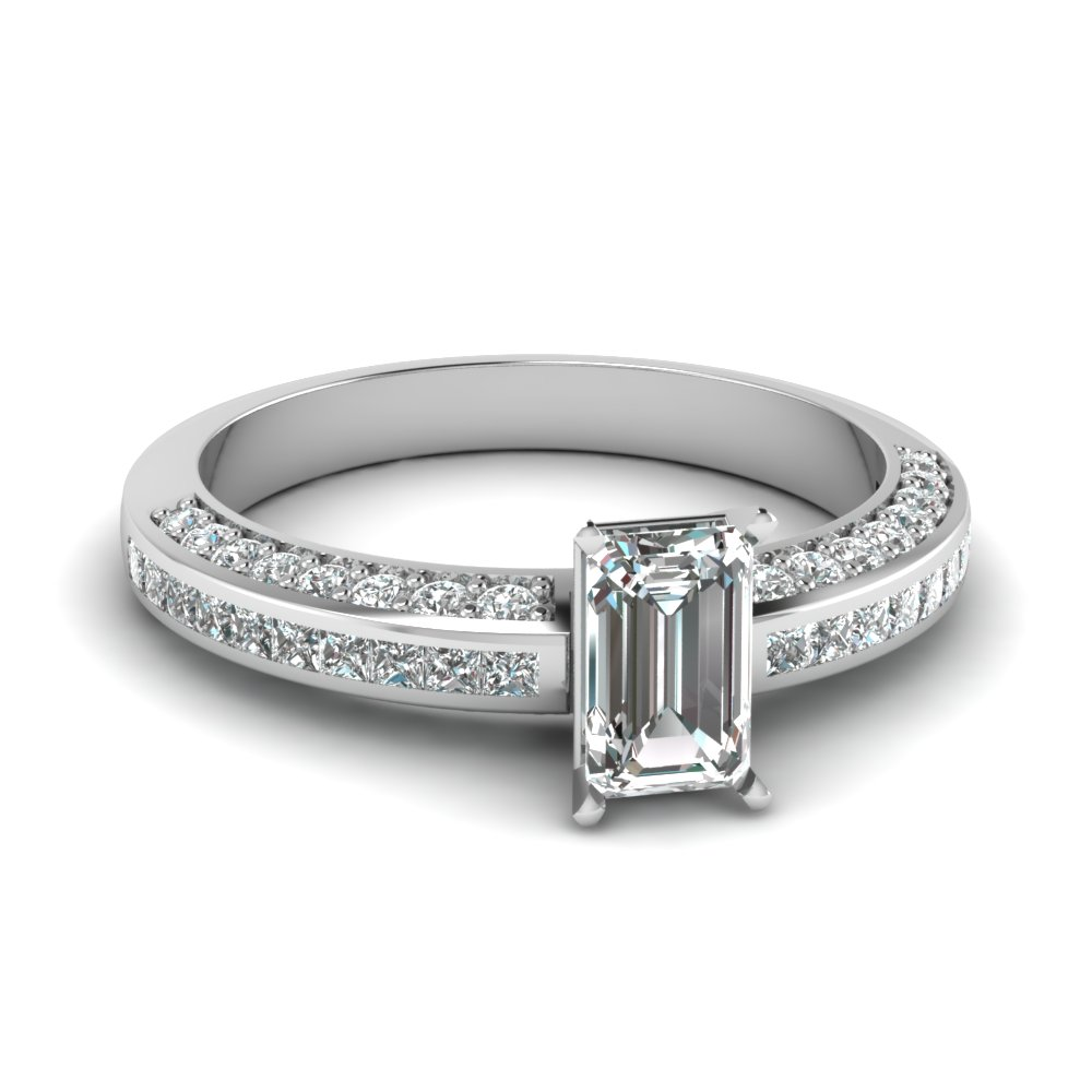 emerald cut diamond accent ring in FDENS3020EMR NL WG.jpg
