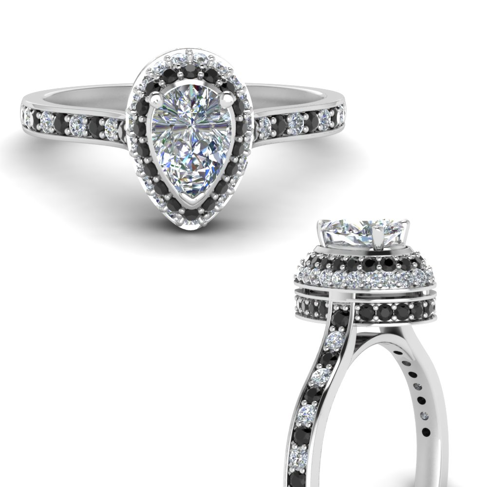 Teardrop Engagement Rings