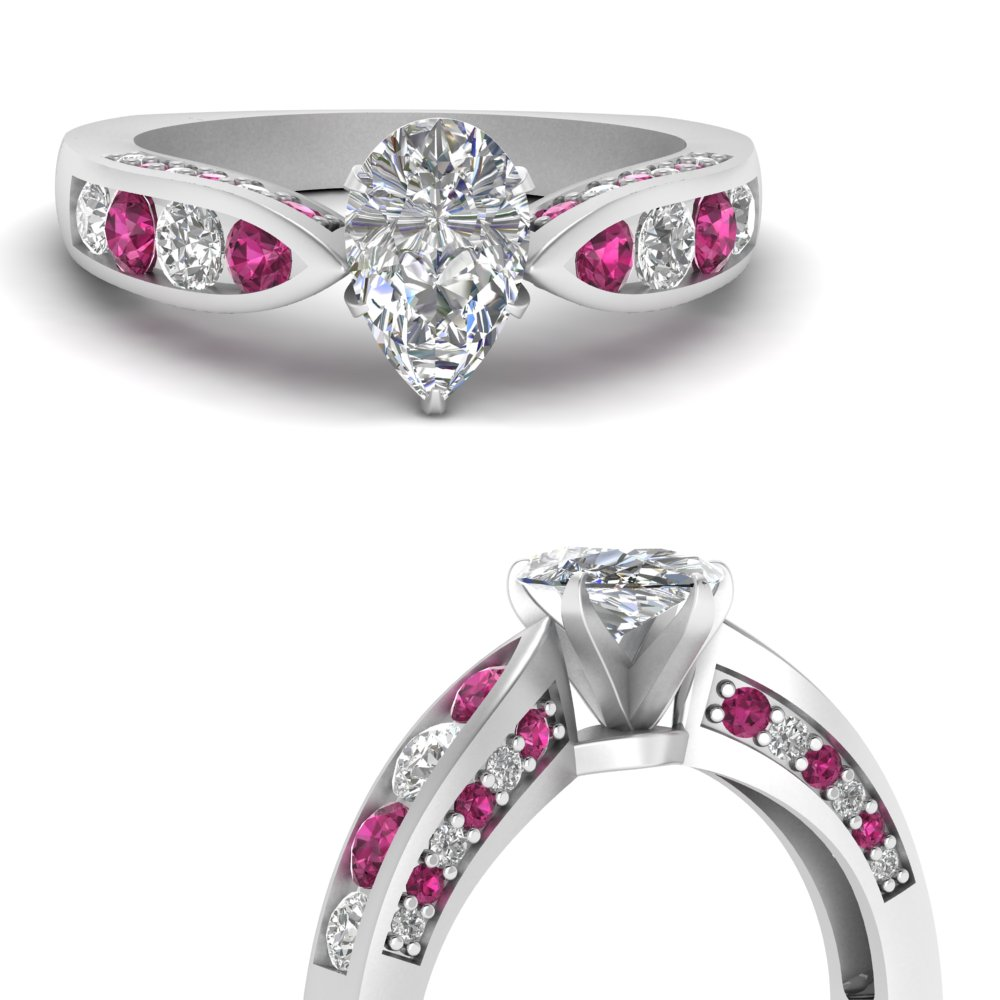 tapered-pear-moissanite-engagement-ring-with-pink-sapphire-in-FDENR2916PERGSADRPIANGLE3-NL-WG