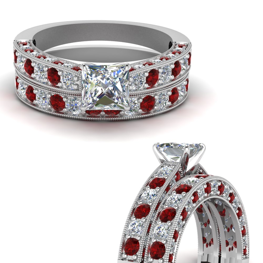 milgrain-princess-cut-diamond-wedding-ring-set-with-ruby-in-FDENS1775PRGRUDRANGLE3-NL-WG.jpg
