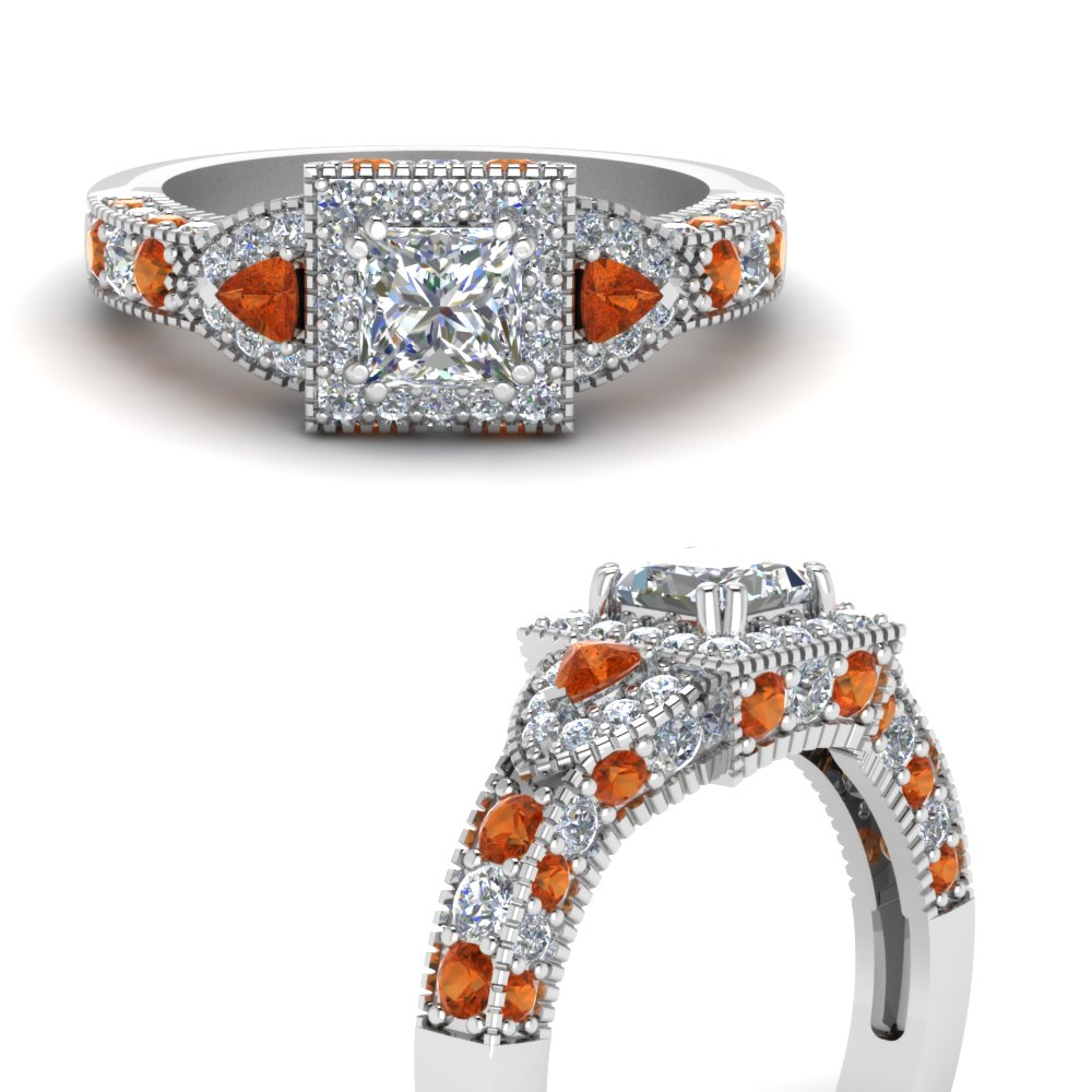 trillion-halo-princess-cut-diamond-engagement-ring-with-orange-sapphire-in-FDENR7784PRRGSAORANGLE3-NL-WG