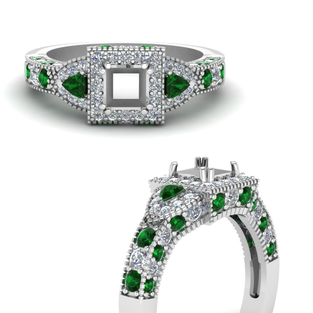 trillion-halo-semi-mount-diamond-engagement-ring-with-emerald-in-FDENR7784SMRGEMGRANGLE3-NL-WG