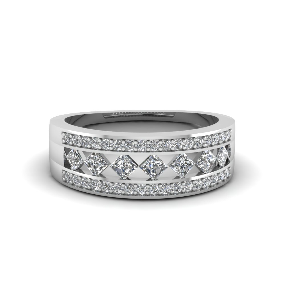 Kite Set Diamond Wide Band