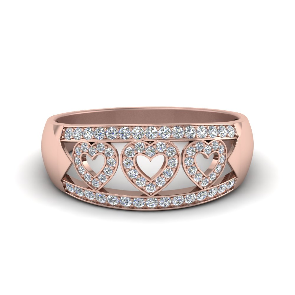 Pave Diamond Women Band