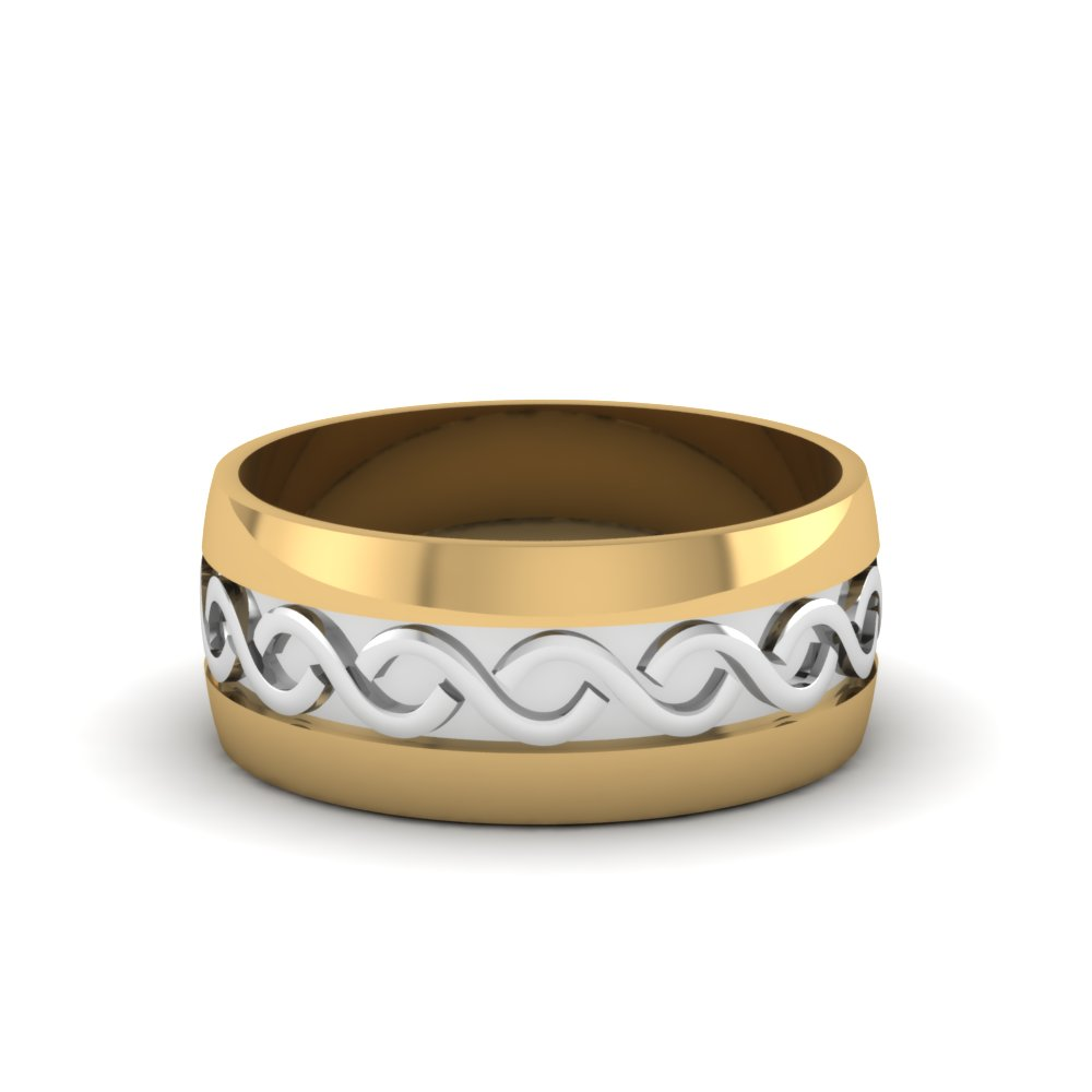 Infinity Mens Wedding Band