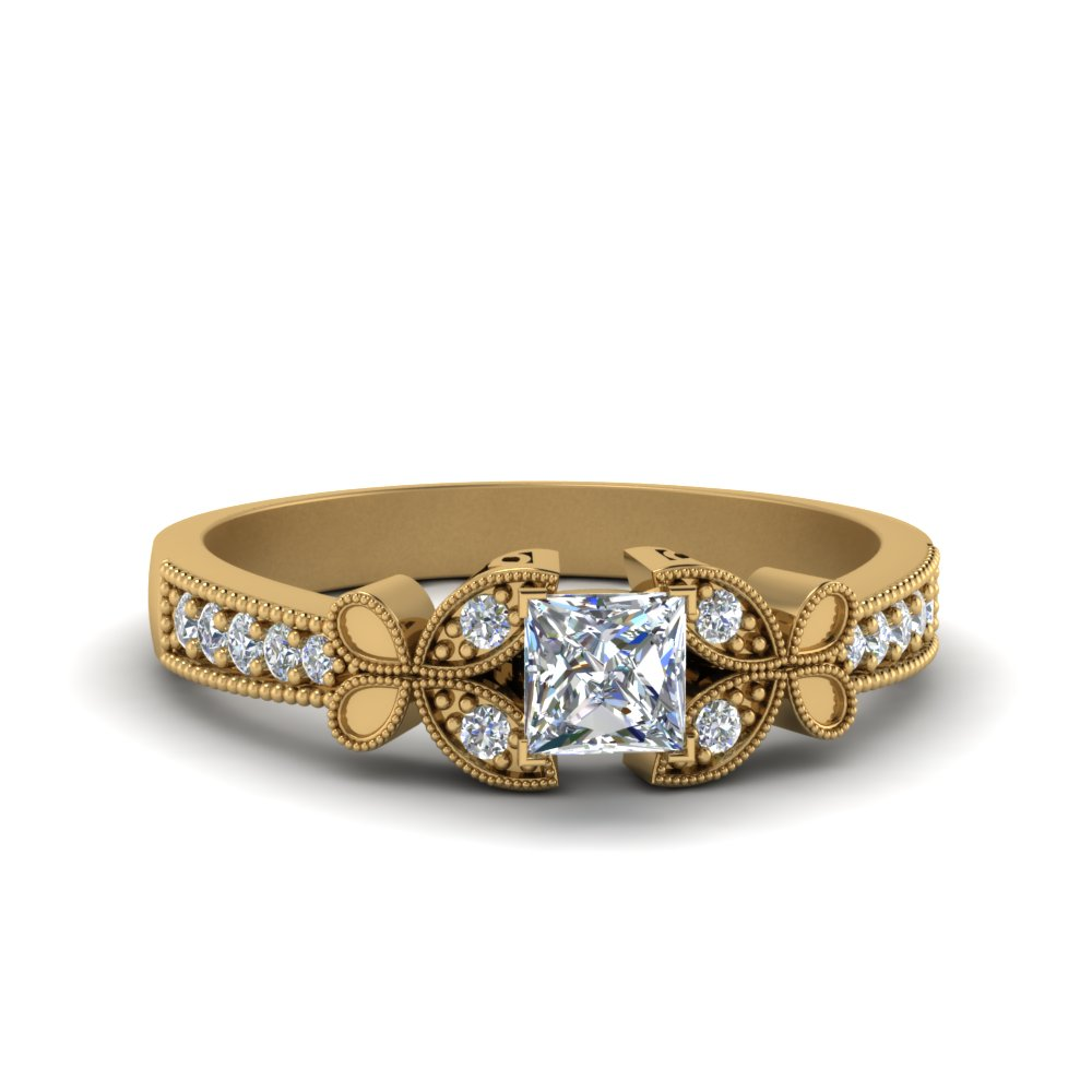 Popular Princess Cut Rings Of 2019