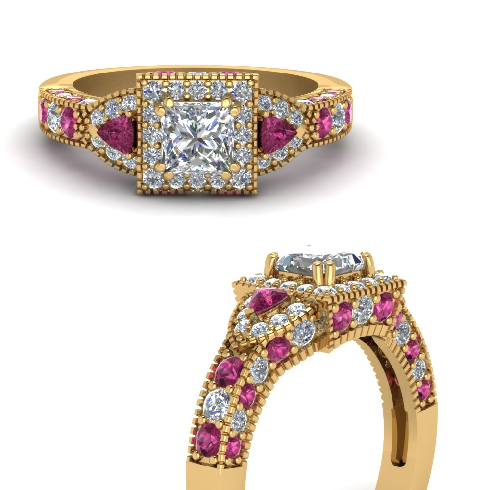 trillion-halo-princess-cut-diamond-engagement-ring-with-pink-sapphire-in-FDENR7784PRRGSADRPIANGLE3-NL-YG