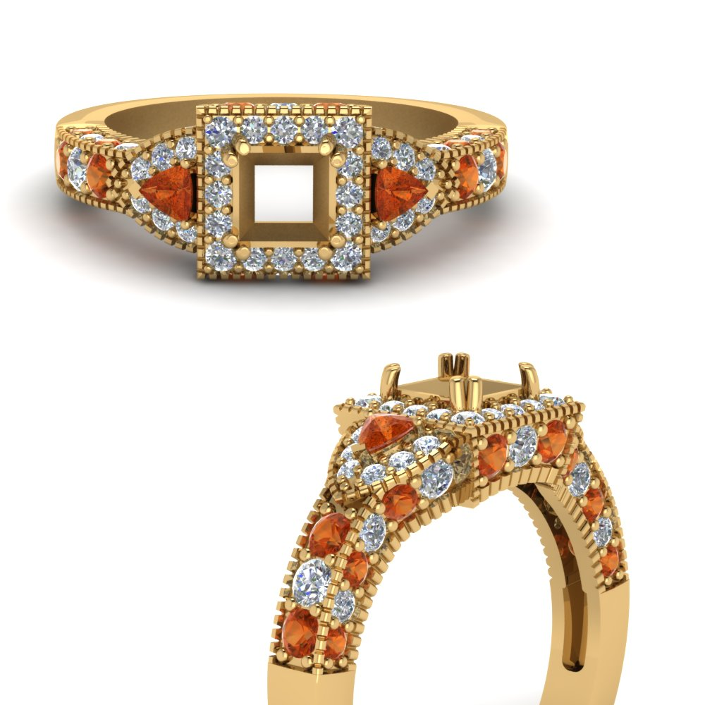 trillion-halo-semi-mount-diamond-engagement-ring-with-orange-sapphire-in-FDENR7784SMRGSAORANGLE3-NL-YG