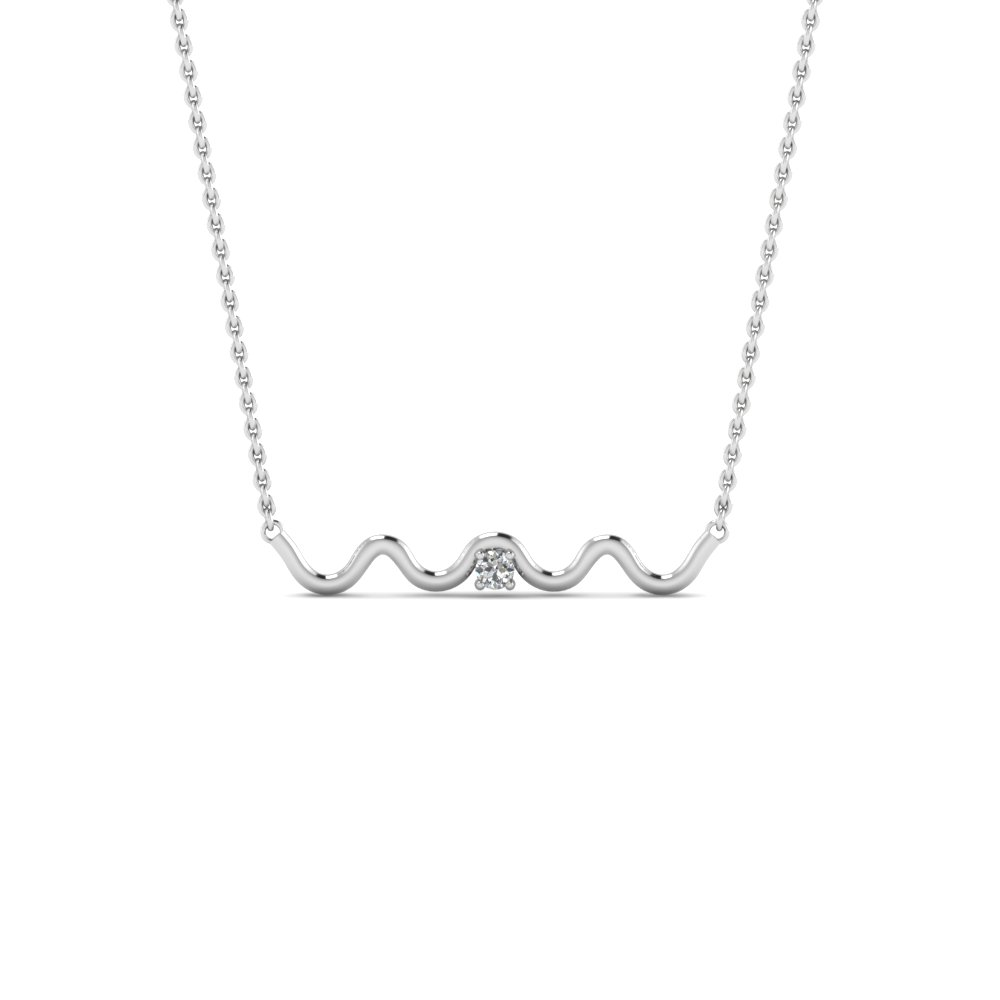 Zig zag single diamond pendant necklace in 950 platinum zig zag single diamond pendant necklace in fdpd86527 nl wg aloadofball Choice Image